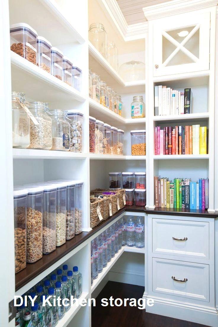 10 Diy Great Kitchen Storage Anyone Can Do 2 Kitchen Storage Diy Kitchen Storage Outdoor Kitchen Appliances