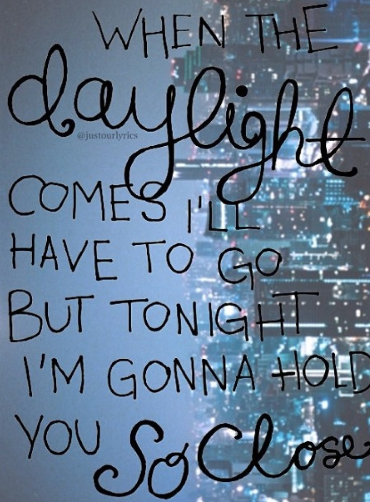 Daylight - Maroon 5..getting pumped for their concert!!!