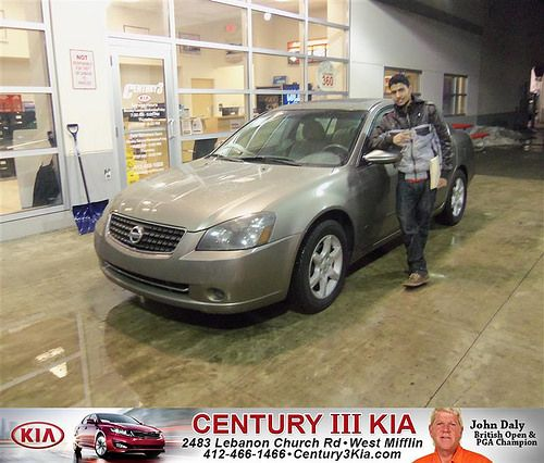 Happy Anniversary to Bal Tiwari on your 2006 #Nissan #Altima from Travis Miller  and everyone at Century 3 Kia! #Anniversary