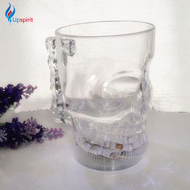 Scull Beer mug with led lights. Другие интересные пивные кружки смотрите здесь http://blogosum.com/posts/promo-posuda/