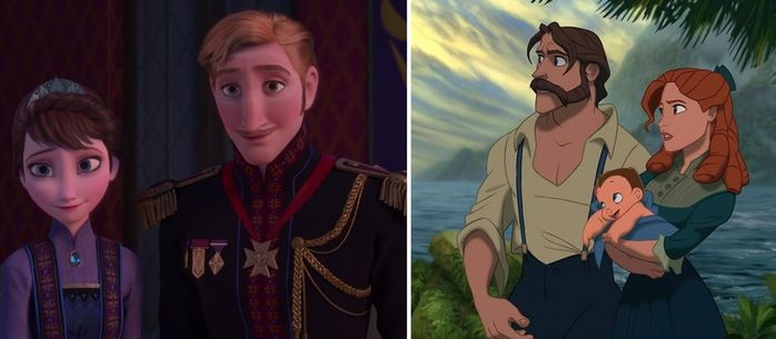 Frozen and Tarzan Parents Conspiracy Theory