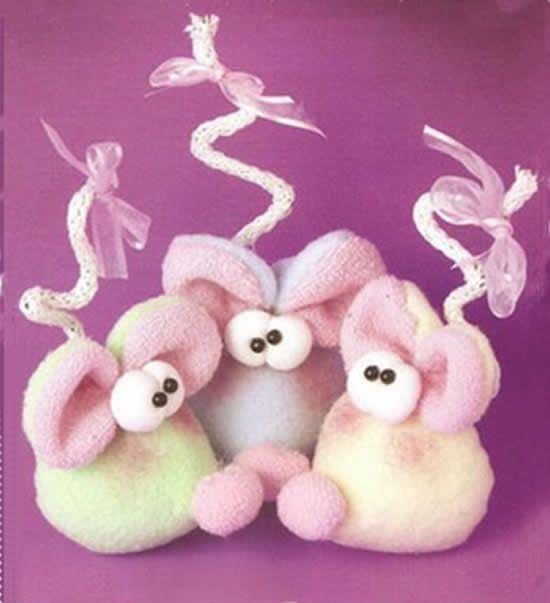 Como hacer souvenirs faciles para nacimiento o 550 603 souvenirs pinterest - Como hacer manualidades con tela ...
