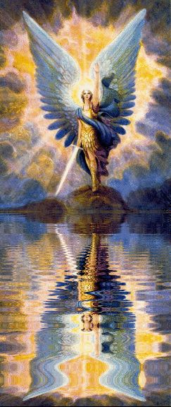 Ascension Earth: ARCHANGEL MICHAEL'S * BLUE GRACE ENERGY GRID * MEDITATION + WHO IS SANANDA WHO ARE THE EAGLES In English & Chinese in English and Chinese??
