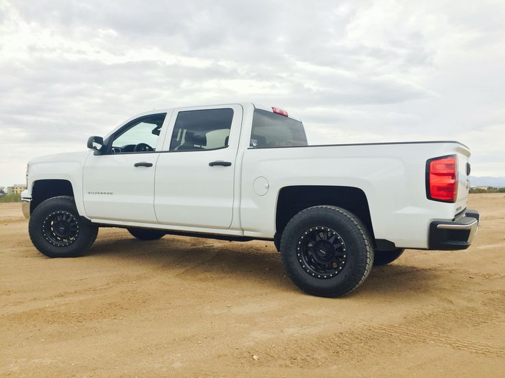 My 2014 Chevy Silverado with fox coil overs,Cwf off-road ...