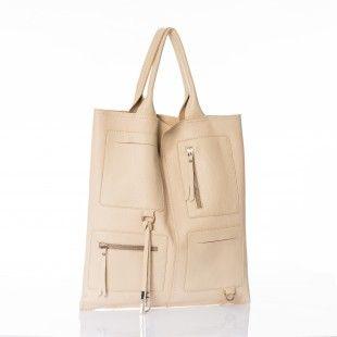 Una shopper multitasca in morbida pelle...di che colore la vorreste? http://www.caleidostore.it/it/pelle/130-topazio.html#