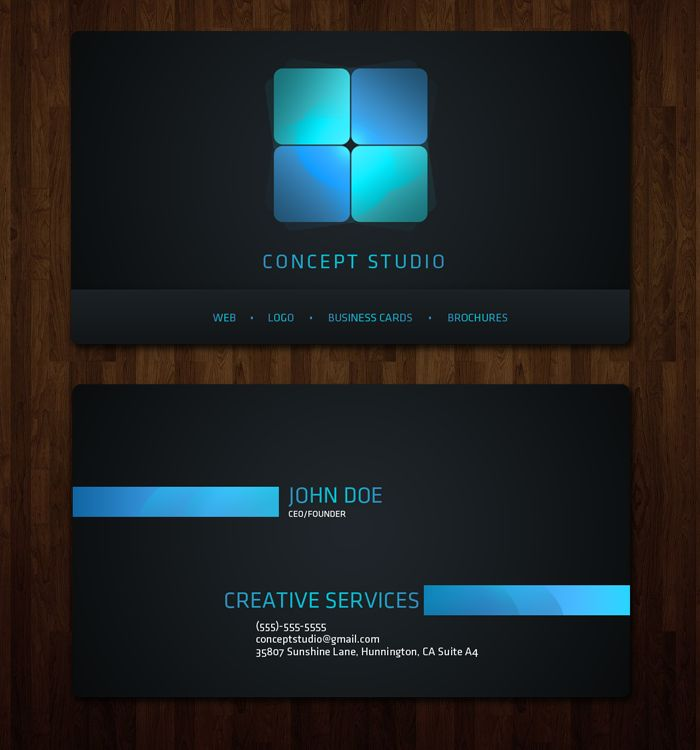 Best BUSINESS CARDS Images On Pinterest - Website business card template