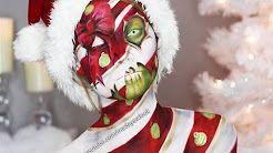 Christmas Present Zombie Makeup Tutorial