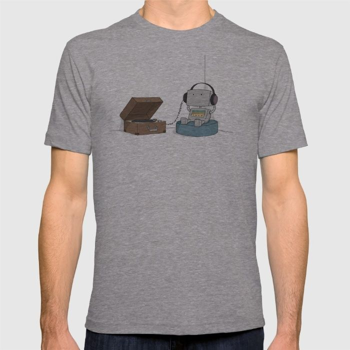 Little Robot  T-shirt by Liz Climo on society6