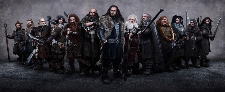 First picture of The Hobbit cast....