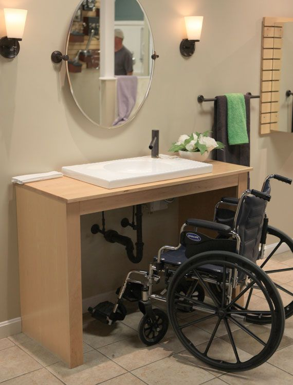 Make A Home Welcoming, Safe And Accessible For Everyone. Consider Wall  Mount Sinks, Walk In Tubs And Other Products For Aging In Place, Universal  Design And ...