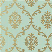 Papier peint classique anglais et français, style Louis xv, Victorien en vente en ligne - Papiers peints haut de gamme - Au Fil des Couleurs