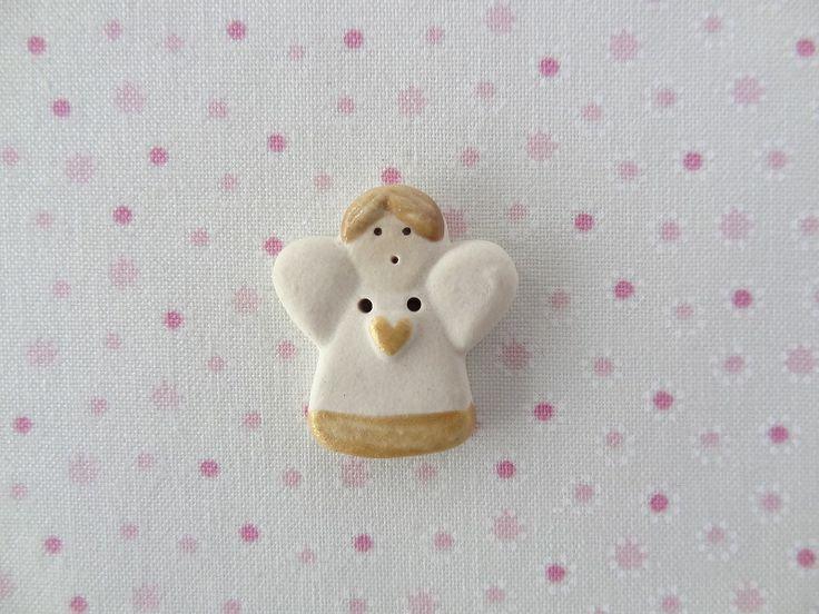 Gold Angel   www.cherabellabuttons.com.au