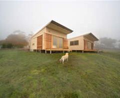 Prebuilt - Pod House - Pod House As an architect by trade I had researched the prefabricated concept of a home and found that the best on offer in Australia was Prebuilt.