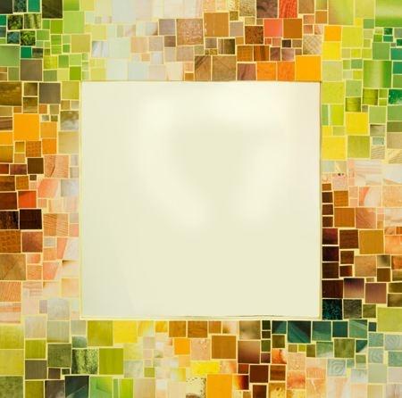marco de mosaico