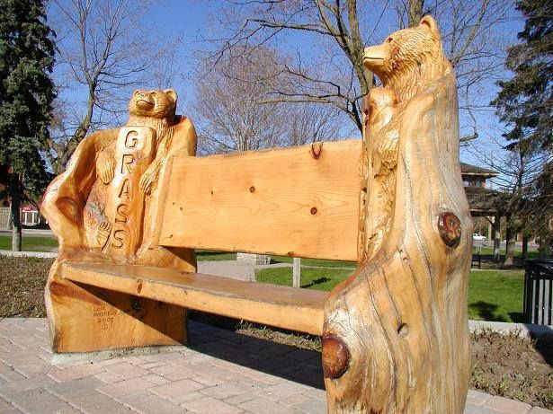 Best chainsaw benches images on pinterest bench