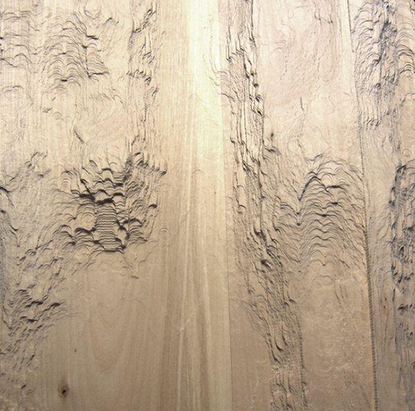 Colaboramos con el artista Urtzi Ibarguen en su escultura Topografías del Ciberespacio. Se espuso en el Centro BilbaoArte de Bilbao, en 2013.  #escultura #madera #topografia #arte #art #sculpture #texture #digitalfabrication #fabricaciondigital #wood #cnc #artist #artista #textura
