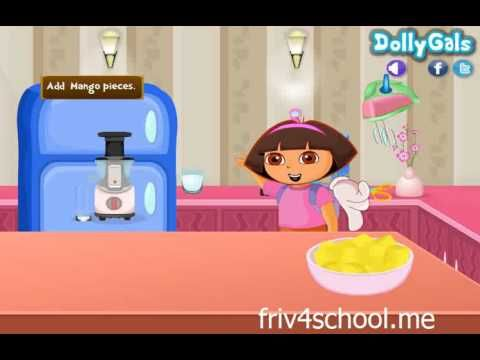 Dora's Cooking Cheesecake - Play Cooking Games - Dora Games ♥♥♥