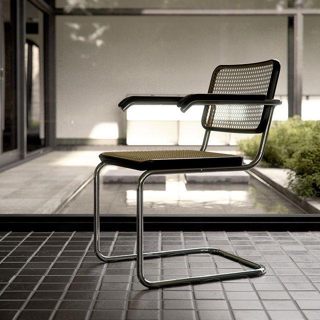 Cesca Chair -- Marcel Breuer; Bauhaus/International Style