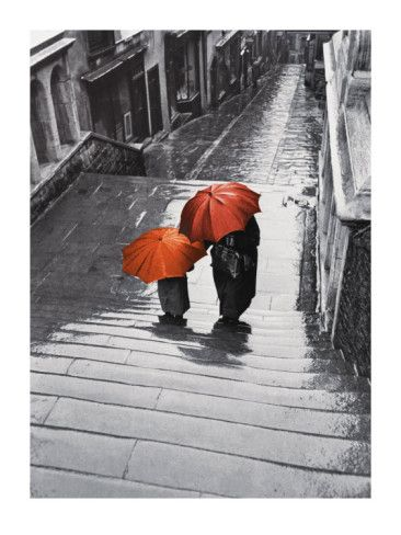 I love orange and grey together. Love the composition too. Love this image. S.
