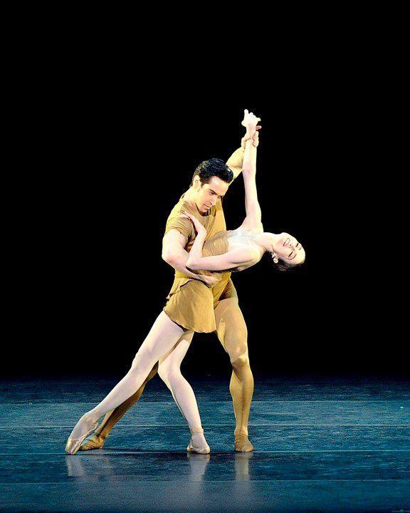 """""""Julie Kent and Sascha Radetsky in Brahms-Haydn Variations (ABT, 2010) """""""