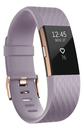 Free shipping and returns on Fitbit Charge 2 Special Edition Wireless Activity & Heart Rate Tracker at Nordstrom.com. This sleek, sporty wristband motivates you to achieve your fitness goals by calculating steps taken, calories burned, elevation climbed and distance traveled throughout the day and features a low-profile display to indicate your real-time progress. Record your workouts with multi-sport modes that give you real-time stats on screen or use the on-board SmartTrack technology to…