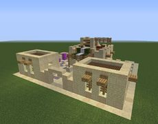 Arabic Desert Archery Range - GrabCraft - Your number one source for MineCraft buildings, blueprints, tips, ideas, floorplans!