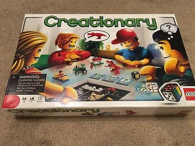 LEGO-Creationary-Board-Game-Complete-Great-For-Families