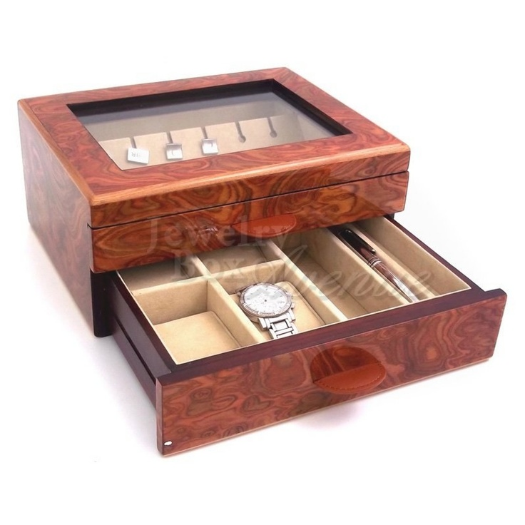 43 best images about men s watch boxes jewelry polished image men s valet case jewelry box avenue only 159 95 plus shipping