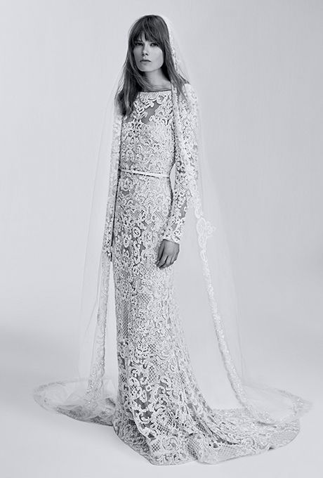 Brides: Elie Saab Bridal Wedding Dresses - Spring 2017 - Bridal Fashion Week