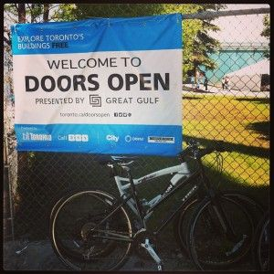 Number 18: Cycle the waterfront trail on our first fun bike ride