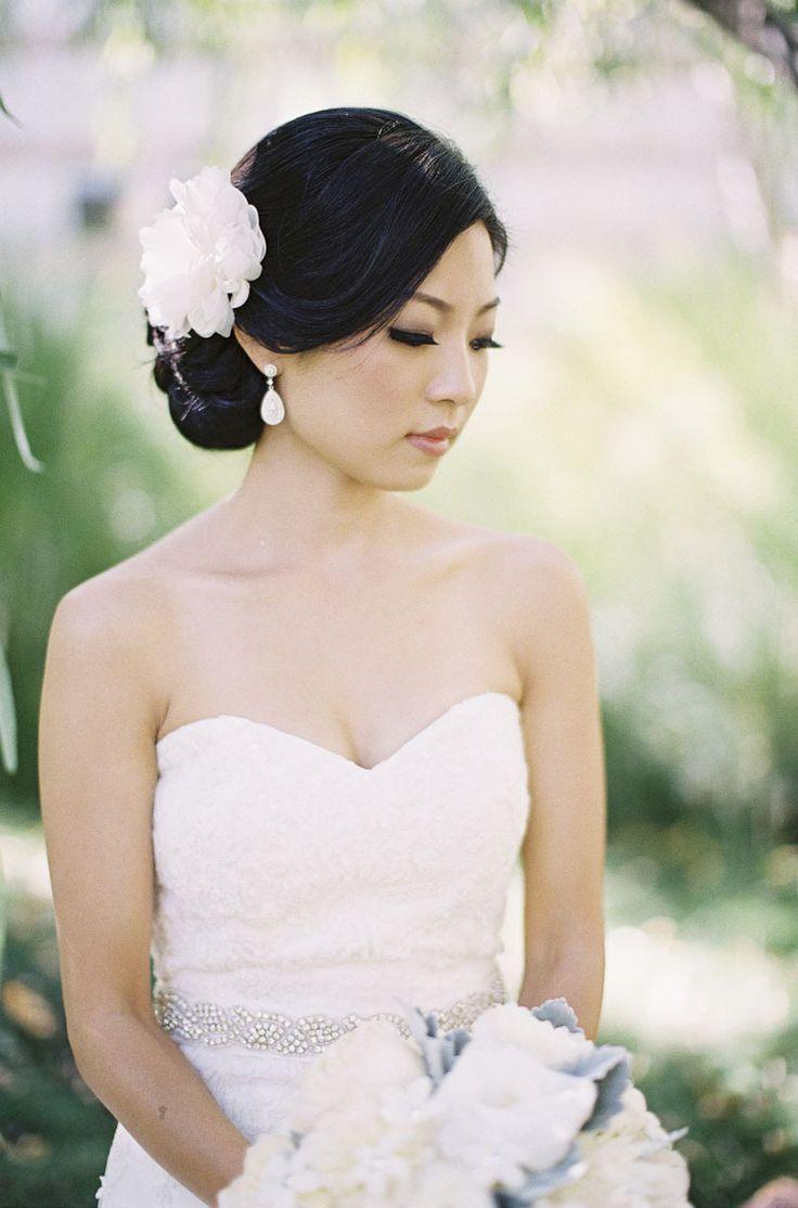 46 best Flower Hair Accents images on Pinterest | Wedding hair ...