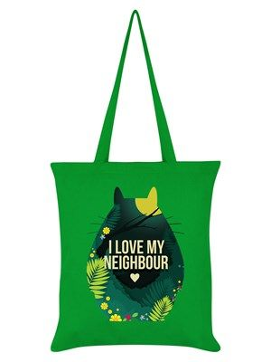 Whether you love your neighbour or the Studio Ghibli masterpiece which this beautiful tote bag takes inspiration from, then this tote bag is the perfect accessory to carry your belongings around. Featured is the unmistakable outline of Totoro - the friendly forest spirit from the smash hit anime movie. A great gift for film buffs and maybe even your neighbour!