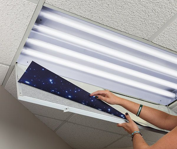 light covers on pinterest fluorescent light fixtures ceiling light. Black Bedroom Furniture Sets. Home Design Ideas