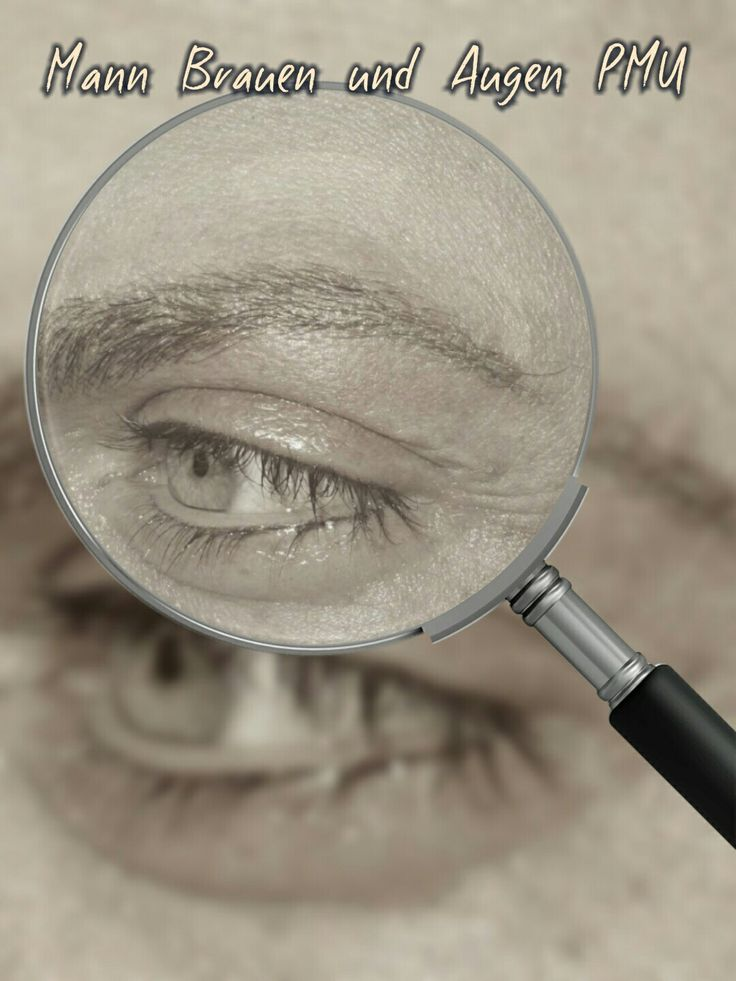 Mann permanent make up   Augen und Brauen