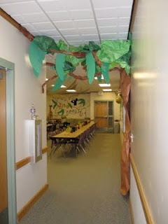 """Wild about our teachers"" theme for Teacher Appreciation Week.  Also some very cute teacher door ideas."