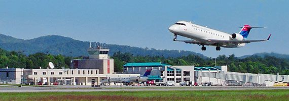 Asheville Regional Airport (AVL) -- located in the beautiful Blue Ridge Mountains of western North Carolina.