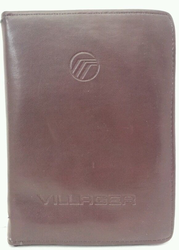 1993 Mercury Villager Minivan Owners Manual Guide Set FPs-12228 P Original Stock