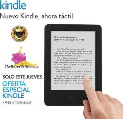 Oferta especial Kindle por el Dia del Libro en Amazon. SOLO JUEVES 23.  No dejes de estar atento a nuestro blog y redes sociales porque en cuanto nos enteremos de la promoción de Amazon actualizaremos esta entrada con todos la información.
