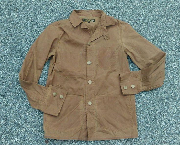 Freeman Sporting Club F.S.C. Tan Brown Wax Oil Cloth Chore