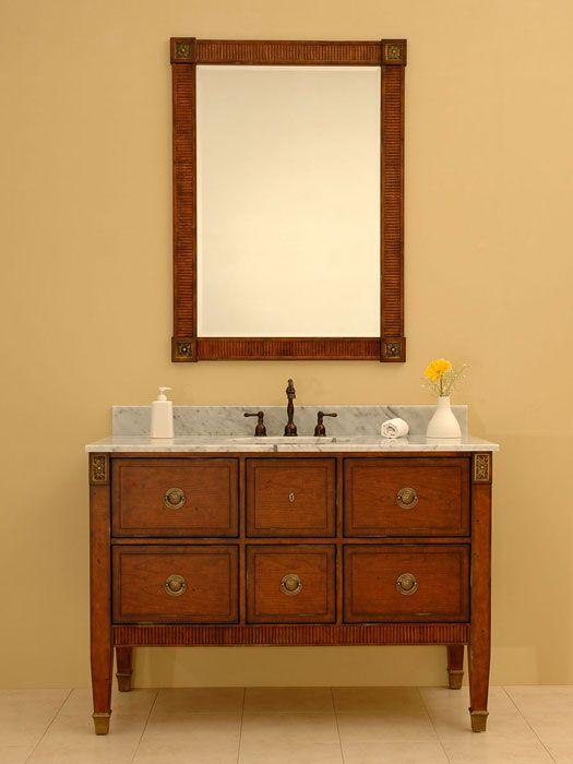 Gallery One What us the Standard Depth of a Bathroom Vanity