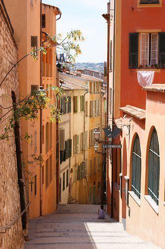 Ruelle en Couleur du Vieux Nice