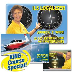 Instrument Rating Written and Checkride Combo - DVD for Windows - Includes Knowledge Exam Prep & Checkride Prep (Oral & Flight) - Plus 4 additional flight skills courses. Guarantee you pass both the FAA Knowledge Test and Checkride.