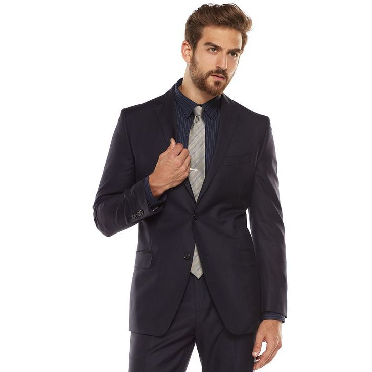 Best 10  Blue suit jacket ideas on Pinterest   Mens suits online ...