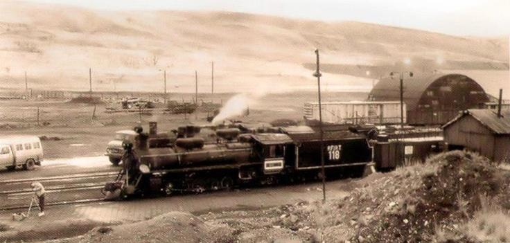 Locomotora Antigua