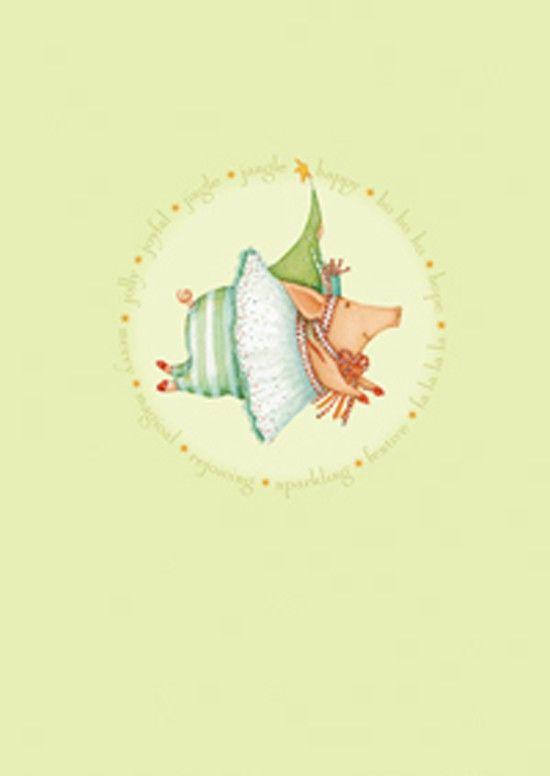 Frohe Schwein Weihnachten Boxed Cards