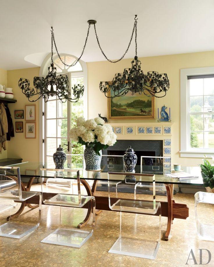 108 besten acrylic chic interiors bilder auf pinterest | haus, für, Esstisch ideennn
