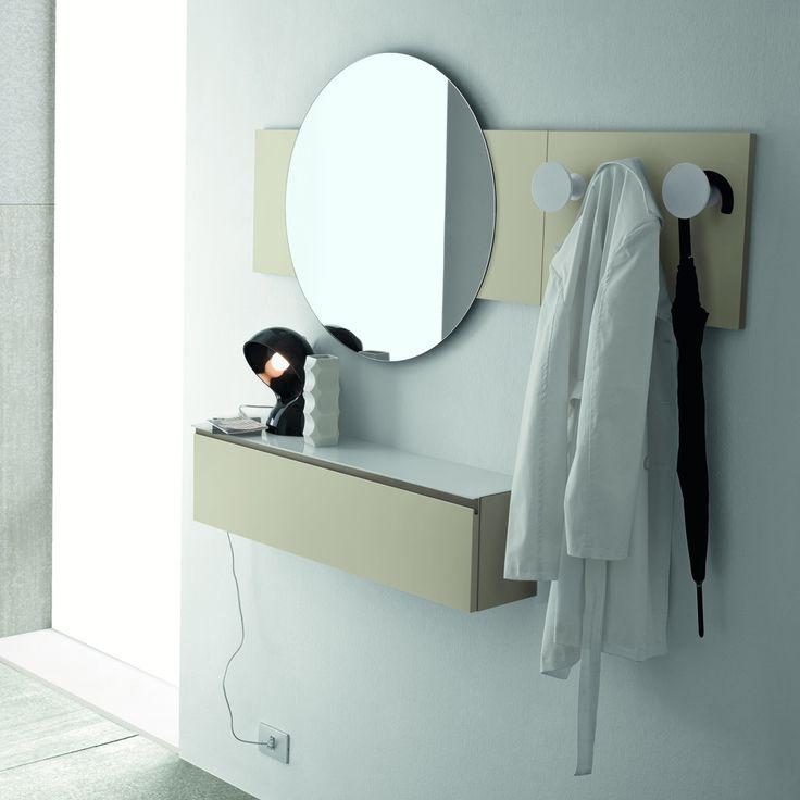 Wall Unit 'Linear', elegant Italian Design. My Italian Living, hiqh quality materials.