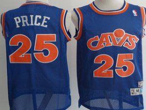 Cleveland Cavaliers NBA Mark Price #25 Blue Soul Swingman Basketball Jersey [F172]