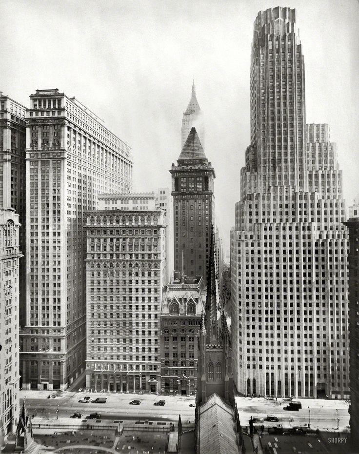 Irving Trust Building 1 Wall Street New York Circa 1931