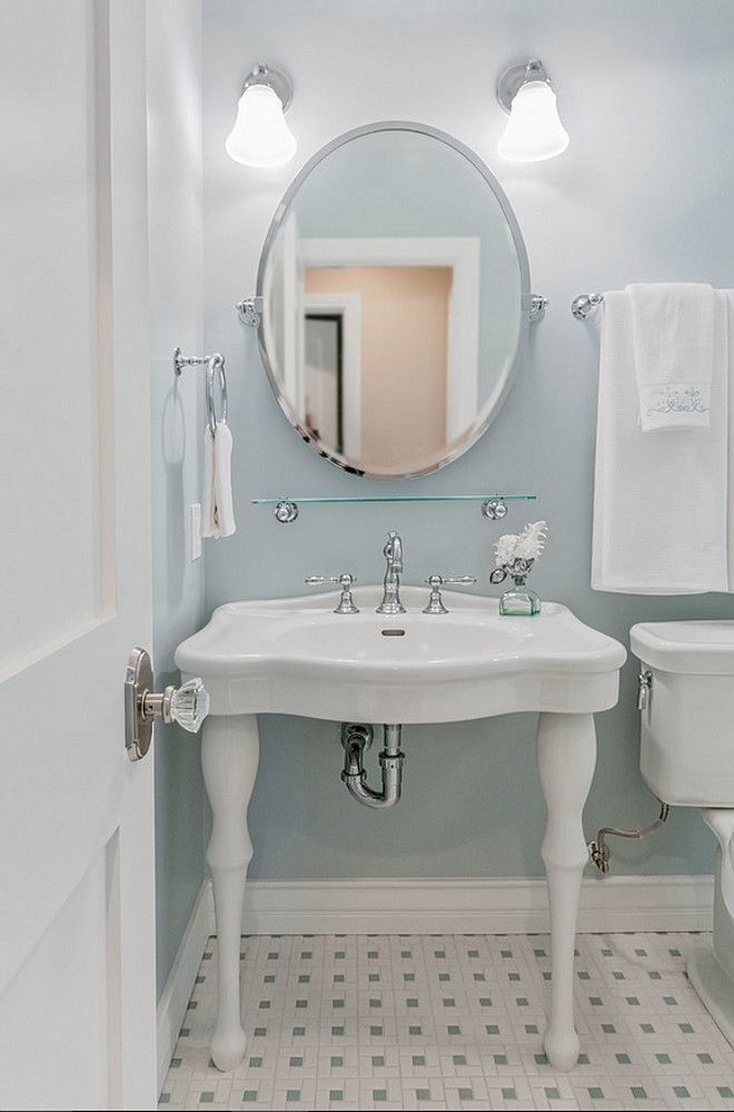 Best 25 blue gray bathrooms ideas on pinterest - Bathroom paint colors with gray tile ...